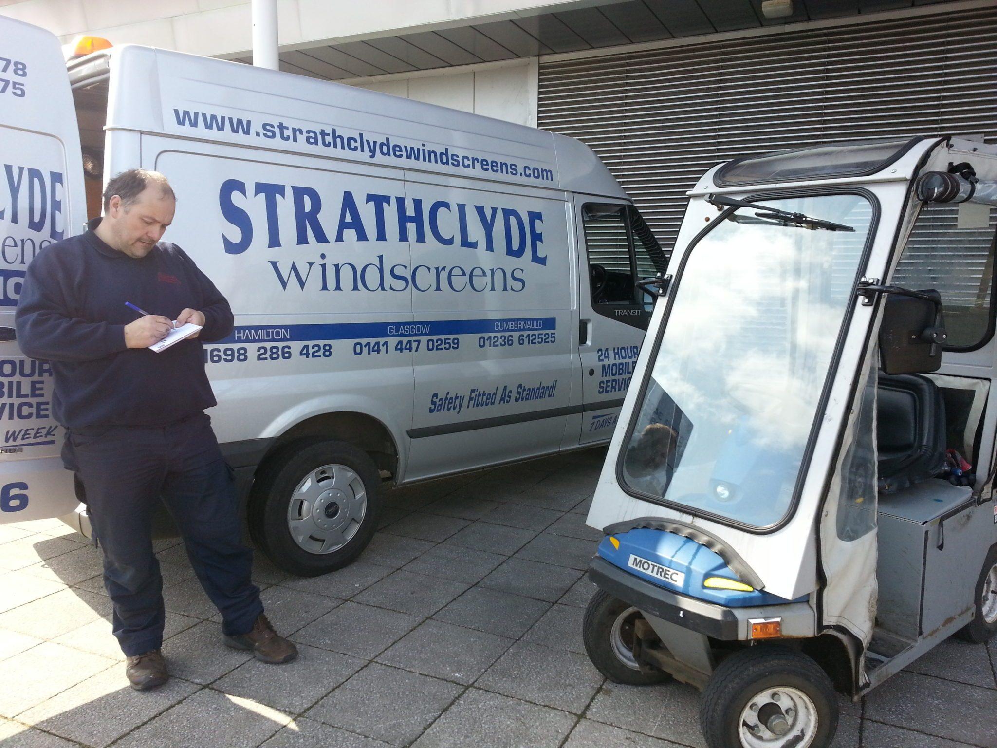 Why car insurance companies love us Strathclyde Windscreen Repair